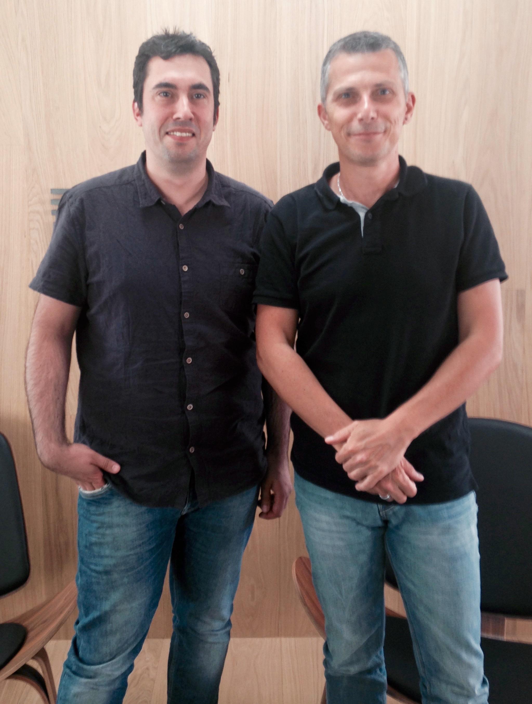 Nicolas Fabre et David Lafon